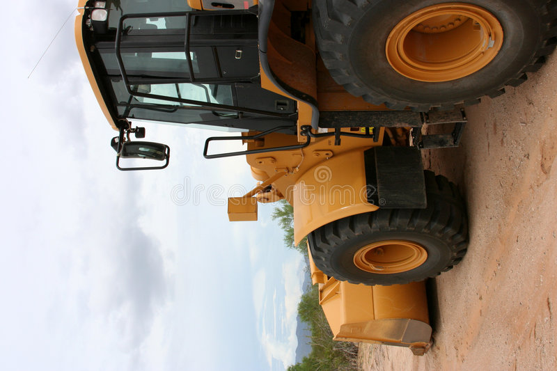 Download Front end loader stock image. Image of dirt, heavy, machinery - 5842087