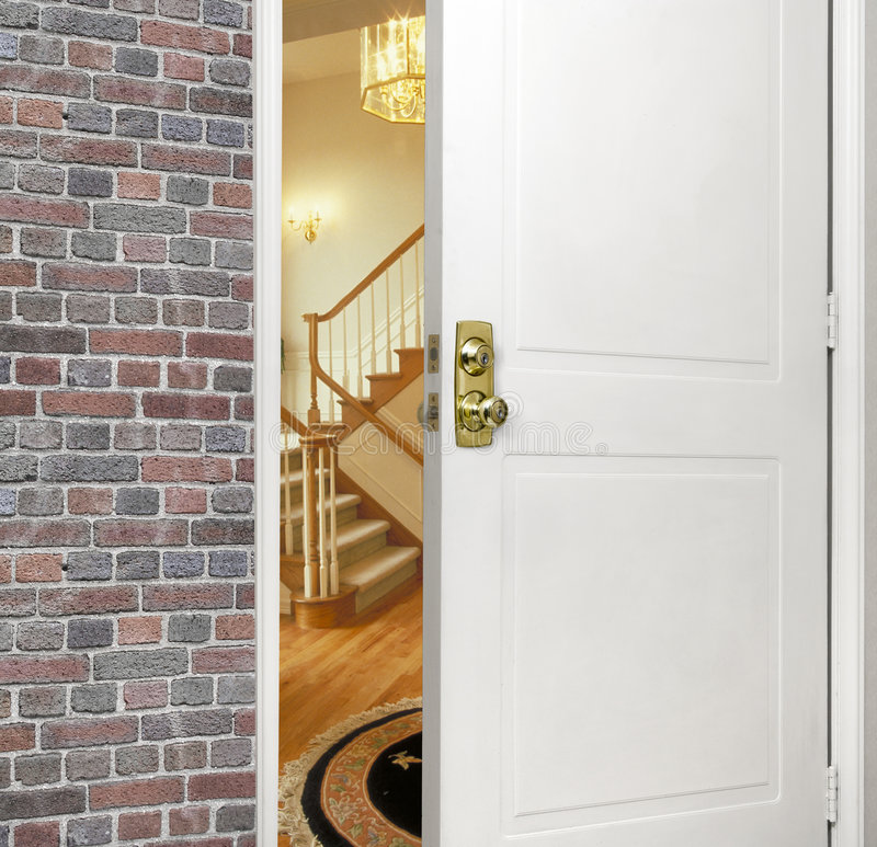 Front entryway royalty free stock image