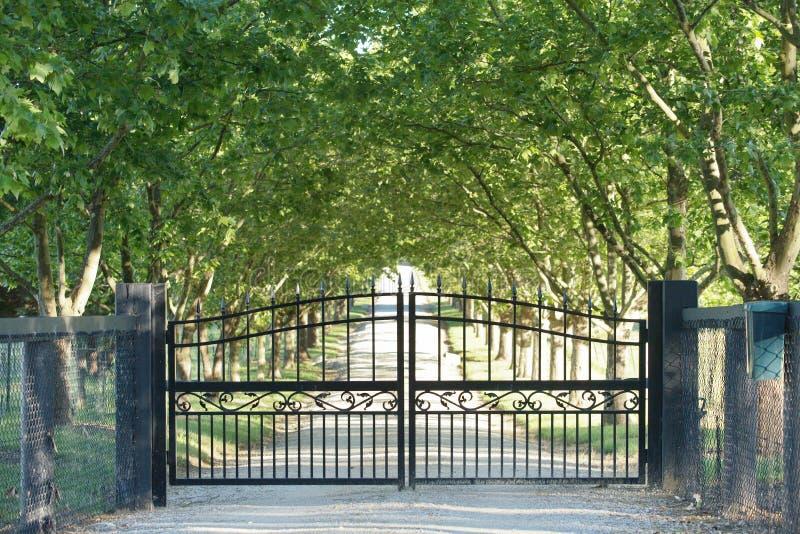 Front Gate foto de archivo libre de regalías