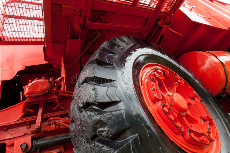 Download Front Of Giant Vintage Mining Truck Royalty Free Stock Images - Image: 16246239