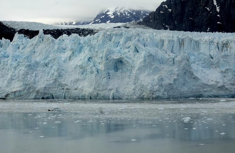 Front of the glacier,, Alaska stock images