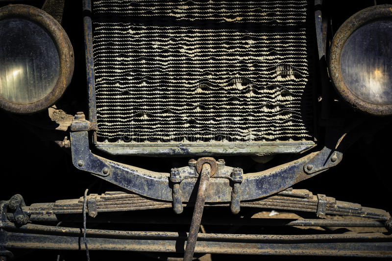 front grill and headlights of a weathered and rusty vintage car stock photo image 54820563. Black Bedroom Furniture Sets. Home Design Ideas