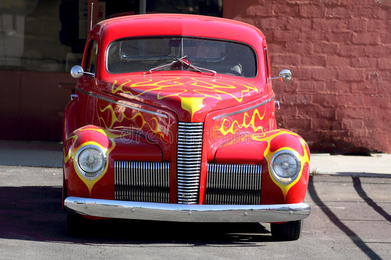 Front Grill of Vintage Nash 454 stock photography