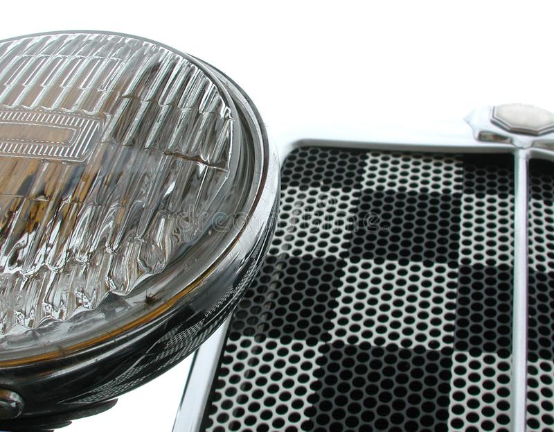 Front Grille And Headlight Stock Photos