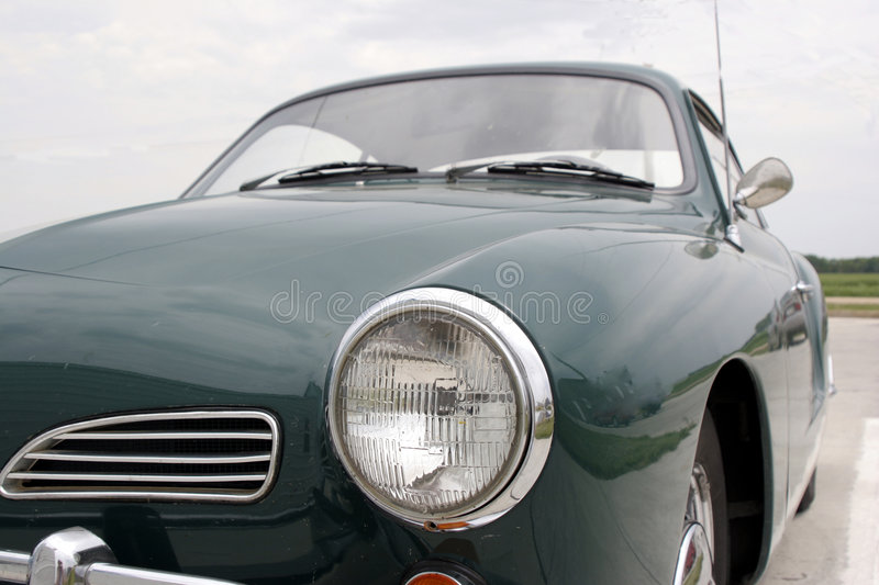 Front of Kharmann Ghia stock images
