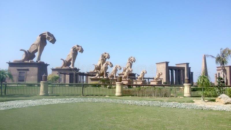 Front Main Gate da cidade Sialkot Paquist?o de Behria fotos de stock royalty free