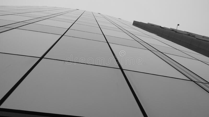 Front Of Modern Building In Black And White Free Public Domain Cc0 Image