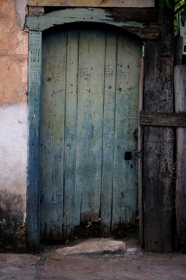 Free Front Old Door Royalty Free Stock Photos - 8496708
