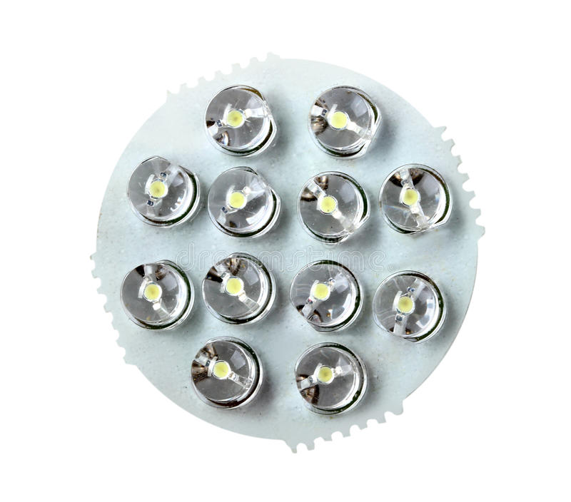 Download Front Panel Of Energy-saving LED Lamp Stock Photo - Image: 29979696