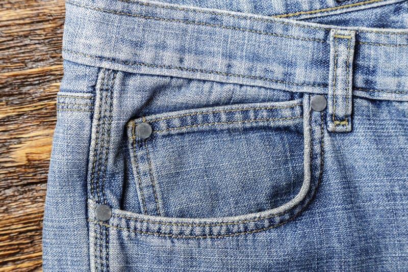 Front pants pocket royalty free stock photo