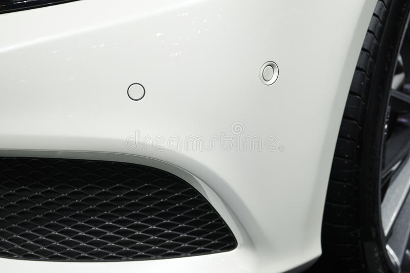 Front Parking Sensor stock afbeeldingen