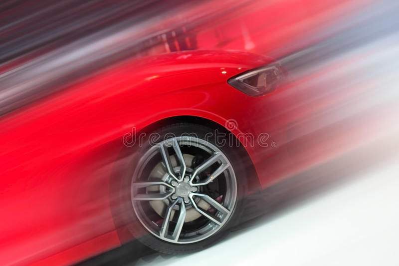 Front part of the car stock image