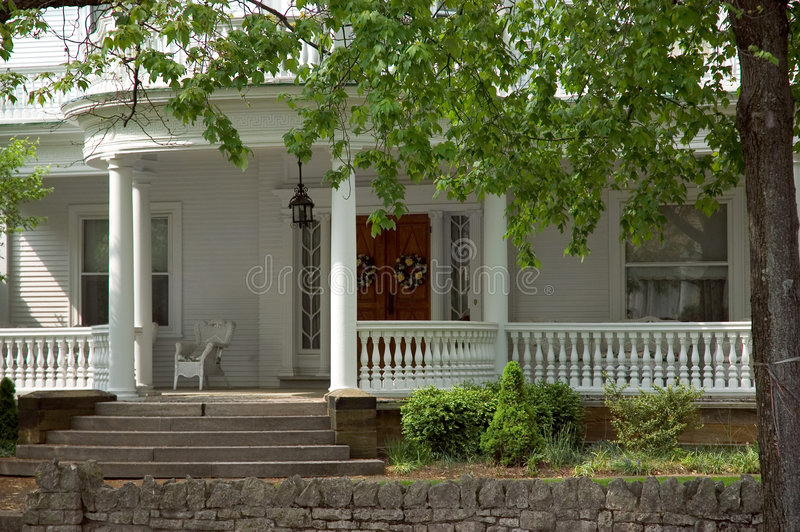 Front Porch stock image