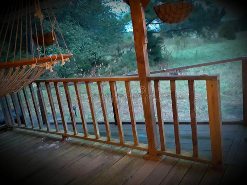 Front porch looking in royalty free stock photos
