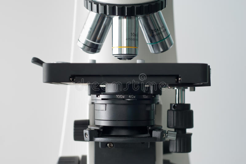 Download Front Of Proffesional Microscope Stock Photo - Image: 21239520