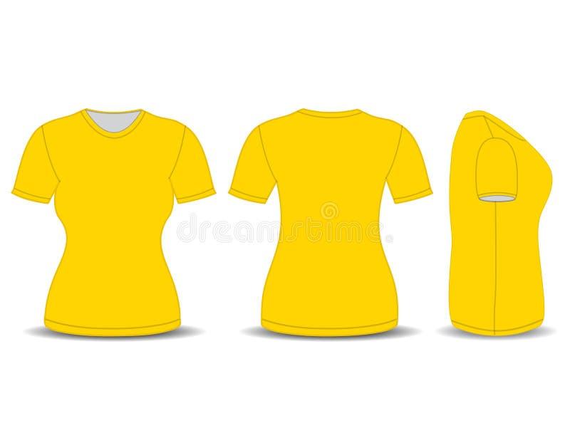 Front, Rückseite und Seitenansichten stock abbildung
