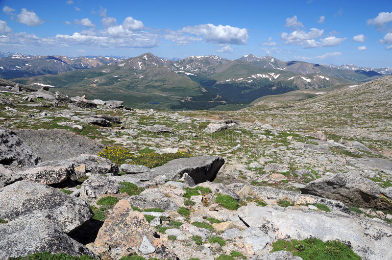 Front Range, Colorado imágenes de archivo libres de regalías
