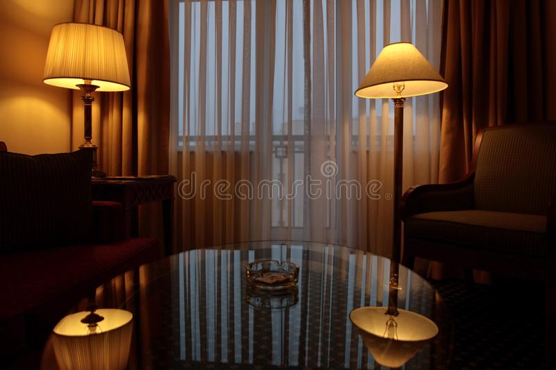 Front room royalty free stock images