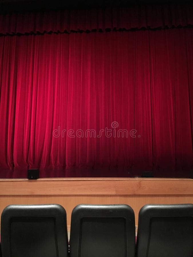 Front Row at the Show royalty free stock image
