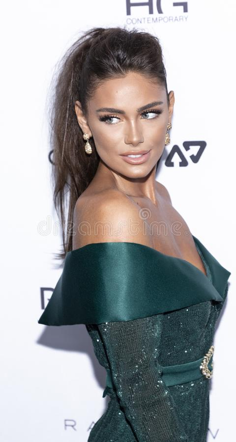 The Daily Front Row 7th Fashion Media Awards. New York, NY, USA - September 5, 2019: Lorena Haliti attends The Daily Front Row 7th Fashion Media Awards at The royalty free stock photography