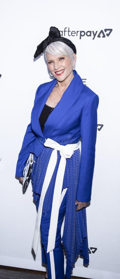 The Daily Front Row 7th Fashion Media Awards. New York, NY, USA - September 5, 2019: Maye Musk attends The Daily Front Row's 7th Fashion Media Awards at stock images
