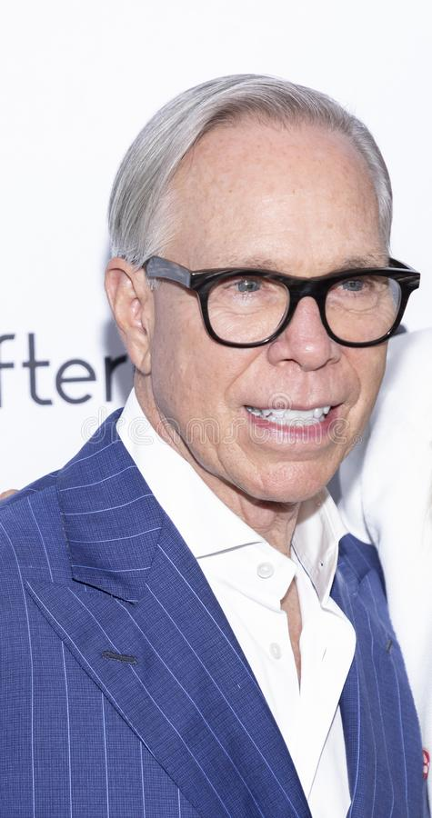 The Daily Front Row 7th Fashion Media Awards. New York, NY, USA - September 5, 2019: Tommy Hilfiger attends The Daily Front Row 7th Fashion Media Awards at The stock photos