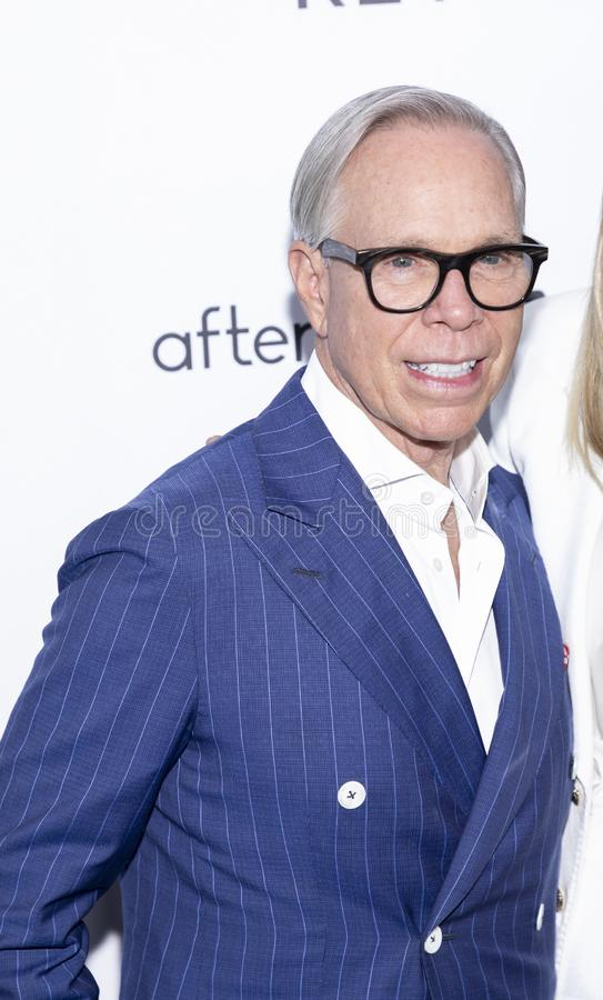 The Daily Front Row 7th Fashion Media Awards. New York, NY, USA - September 5, 2019: Tommy Hilfiger attends The Daily Front Row 7th Fashion Media Awards at The royalty free stock image