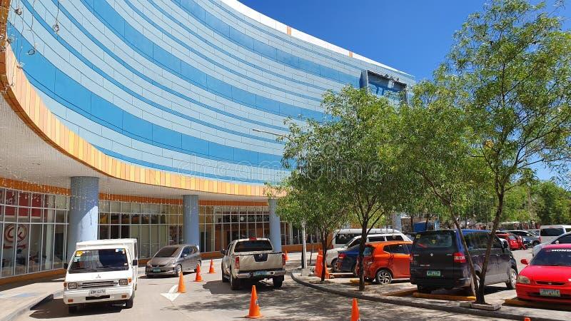 Front Side of SM Mall in Consolacion, Cebu, Filipijnen royalty-vrije stock fotografie