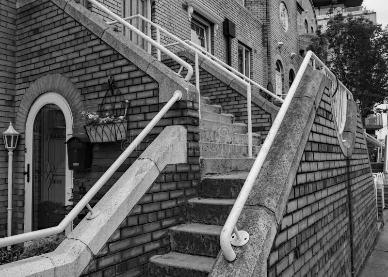 Front Steps en Dublín imagen de archivo