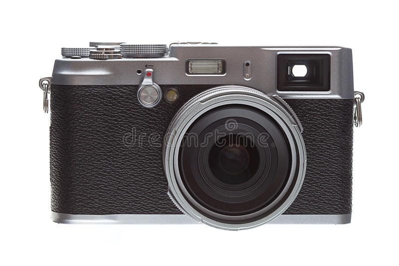 Download Front Veiw Retro Styled Camera Stock Image - Image: 32754529