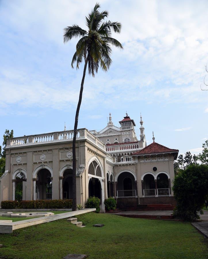 Front view of Aga Khan Palace stock photos