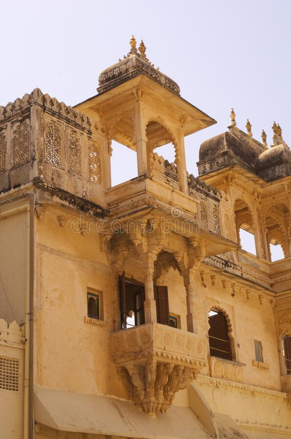 Building Inside Udaipur Palace-3 royalty free stock photos