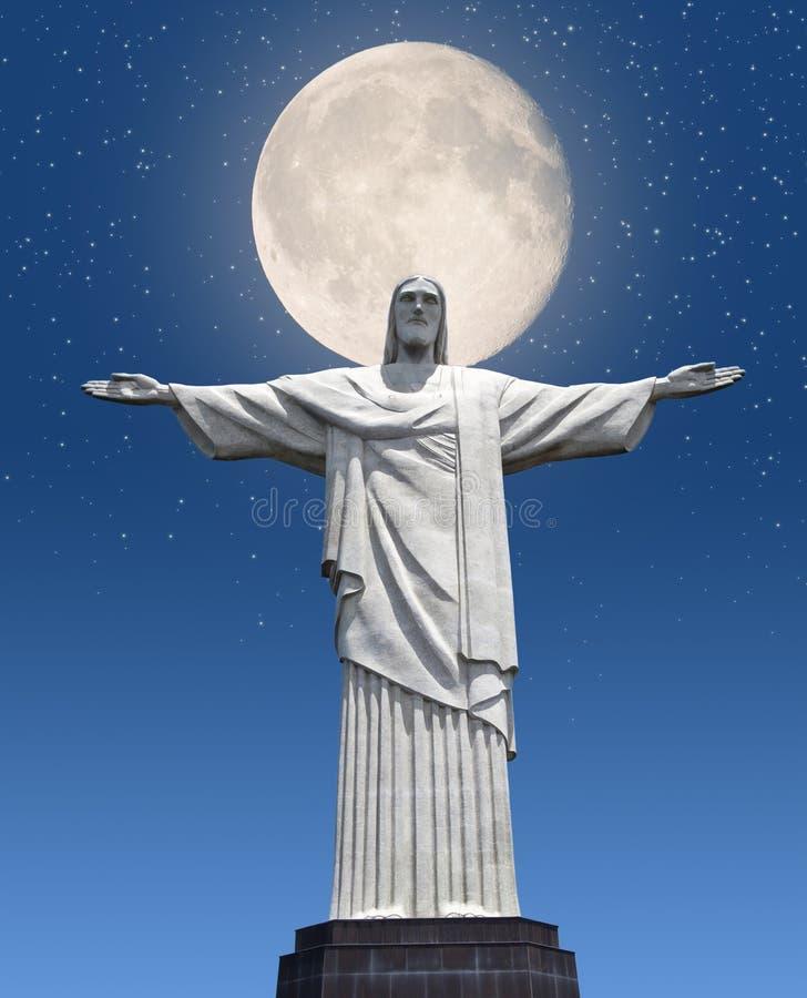 Rio De Janeiro, Christ The Redeemer Statue stock photo