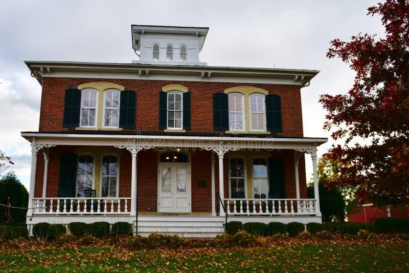 Front View de Eli Peck House imagens de stock royalty free
