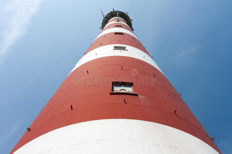 Download Front View Of A Dutch Lighthouse Stock Image - Image: 20698937