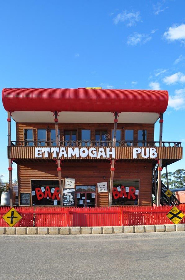 Front View of Ettamogah Pub royalty free stock photo