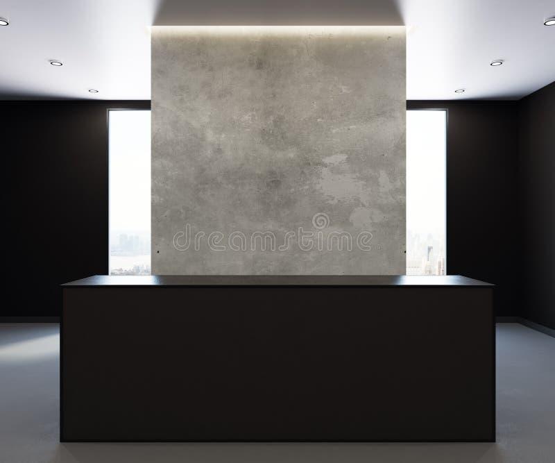 Download Modern Office Reception Front Stock Illustration   Illustration Of  Hotel, Light: 107613674