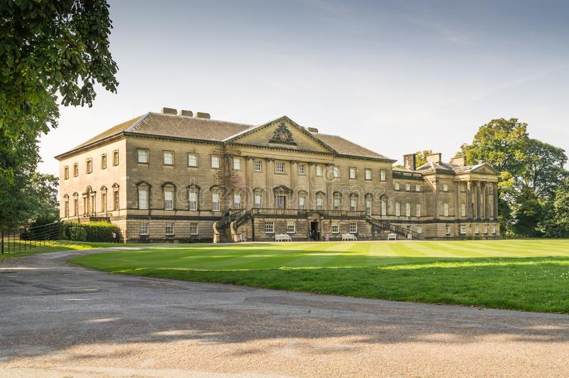 Front view of Nostell Priory, Yorkshire royalty free stock photo