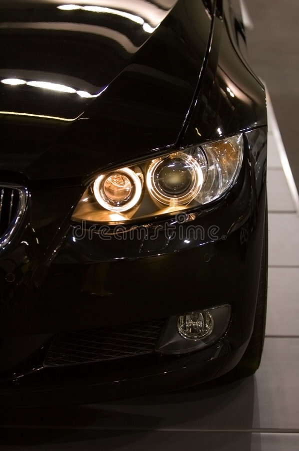 Download Front View Of Sportive Car Stock Photos - Image: 7724003