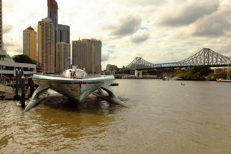 Download Front View Of Turanor Planet Solar Brisbane River Editorial Photography - Image: 19736792