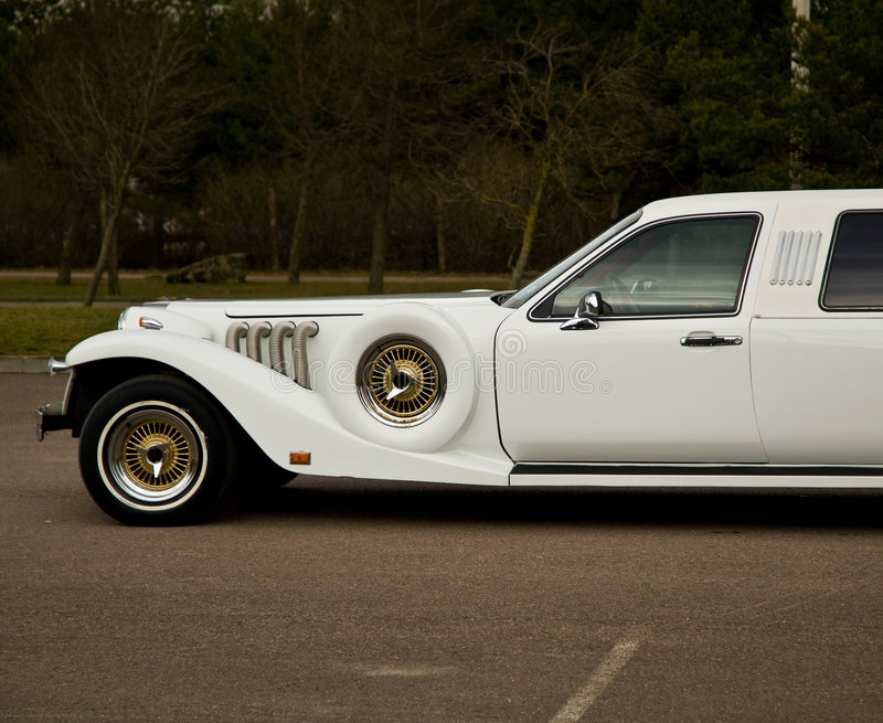 Download Front of vintage limousine stock photo. Image of classical - 4672228