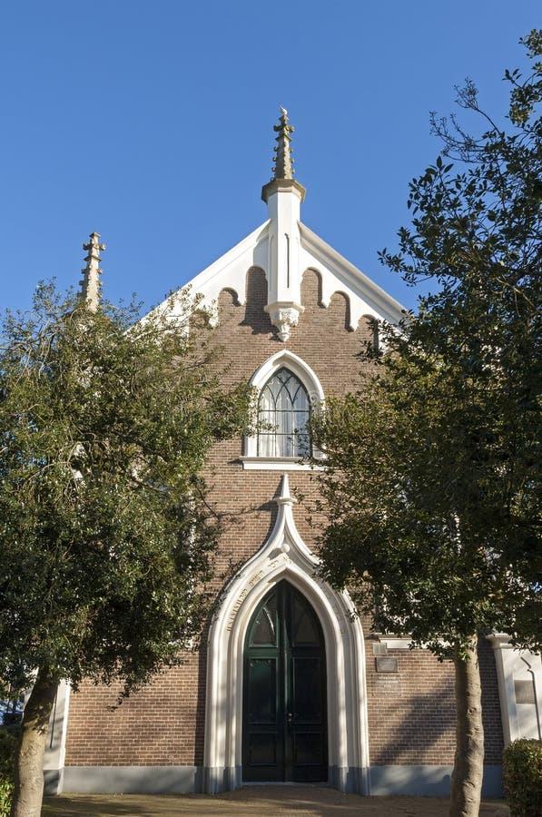 Frontage синагоги, города Culemborg стоковая фотография