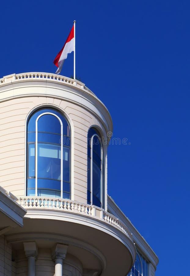 Frontage do edifício em Monaco fotos de stock