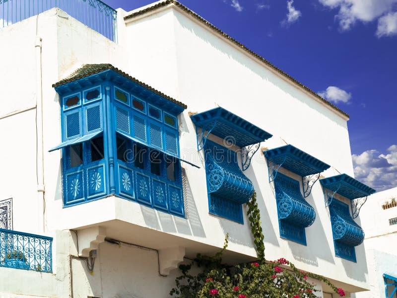 Frontage tunisino fotografia de stock