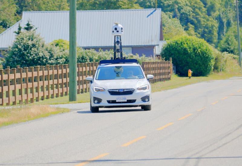 Frontal lleno del coche del mapa de Apple imagen de archivo libre de regalías