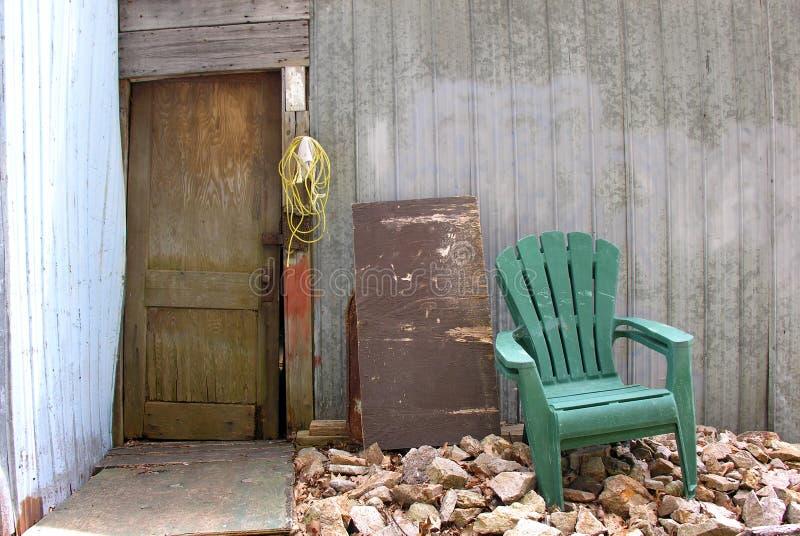 frontdoor arkivbild
