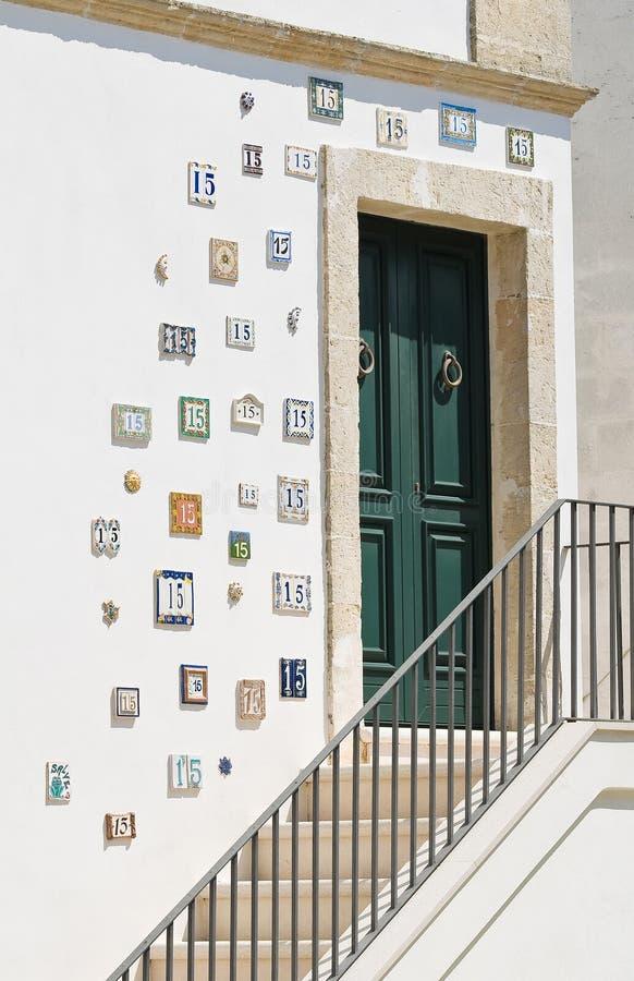 frontdoor royaltyfri bild
