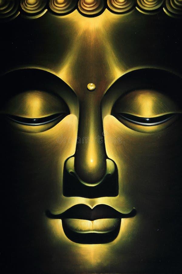 Fronte del Buddha fotografie stock libere da diritti