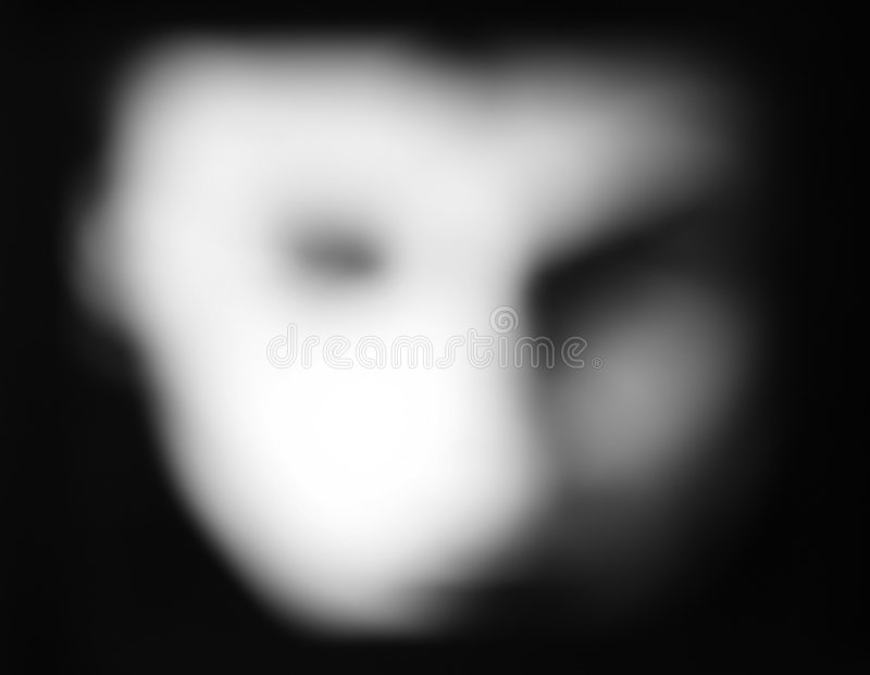 Fronte del fantasma fotografia stock