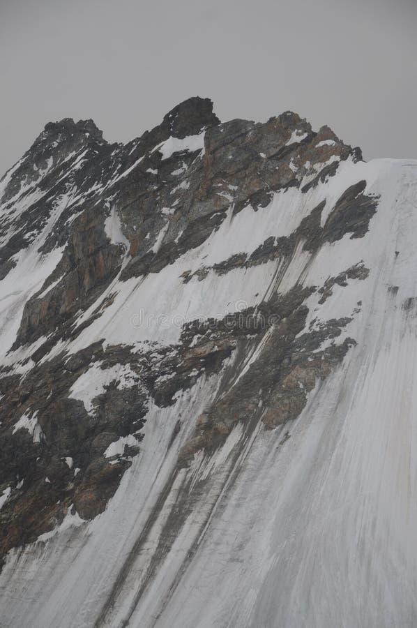 Fronte del nord di Eiger fotografia stock libera da diritti